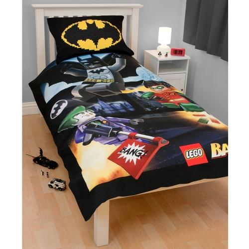 Lego Batman 'Bang' Panel Single Bed Duvet Quilt Doona ...
