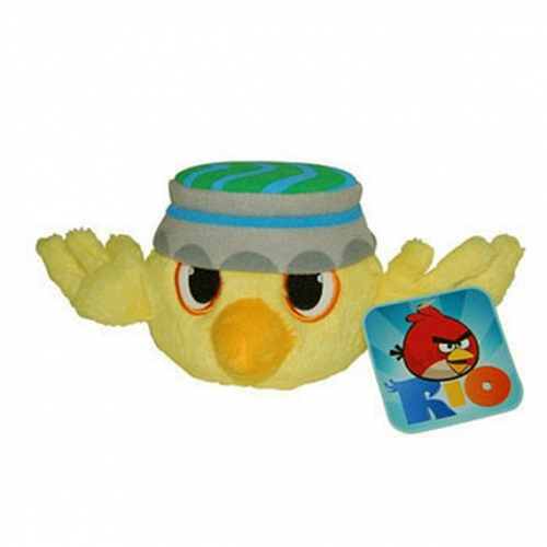 Angry birds rio 8 inch 20 cm plush soft stuffed toy gift brand new ebay - Angry birds toys ebay ...