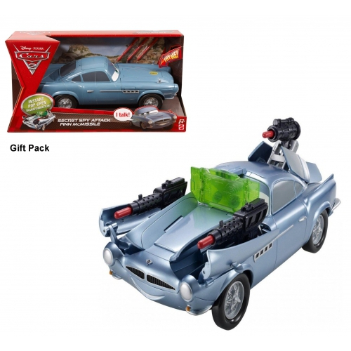 Disney Cars 2 'Secret Spy Attack Finn Mcmissile' Kids Toy