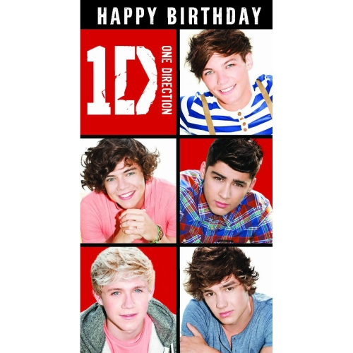 Official one direction birthday card with wo sound message for official one direction birthday card with w o sound bookmarktalkfo Gallery
