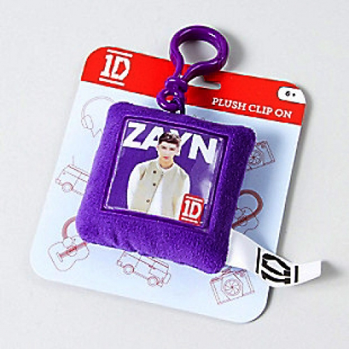 One direction zayn plush square shaped backpack clip school bag