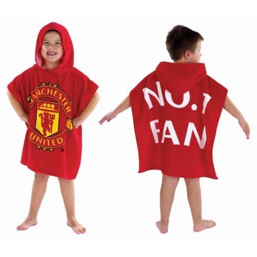 Kids Cartoon Amp Football Poncho Hooded Towels Beach Pool Ebay