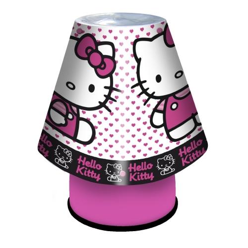 hello kitty 39 hearts 39 kool lamp kids bedroom bedside deco. Black Bedroom Furniture Sets. Home Design Ideas