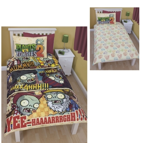 Plants Vs Zombies 2 Time Reversible Panel Single Bed