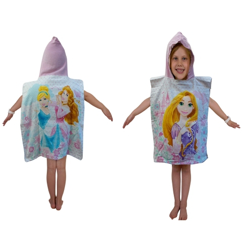 disney princess dreams kapuzen poncho handtuch brandneu geschenk ebay. Black Bedroom Furniture Sets. Home Design Ideas