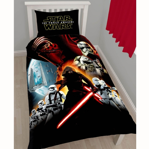disney star wars 39 force r veil 39 lit simple parure couette ensemble couverture ebay. Black Bedroom Furniture Sets. Home Design Ideas