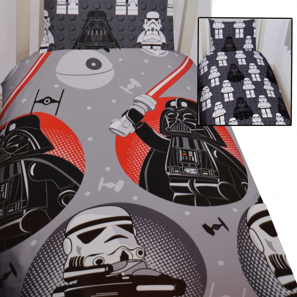 lego star wars villains rotierend einzelbett bettdecke. Black Bedroom Furniture Sets. Home Design Ideas