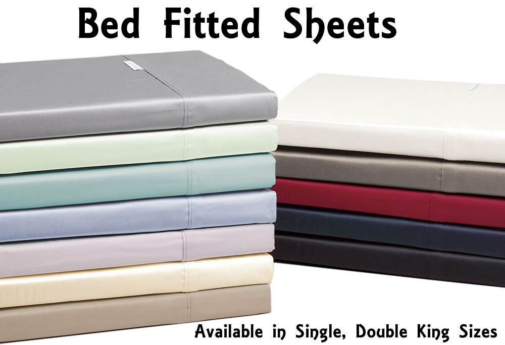 Choose from king size sheet sets that feature both flat and fitted sheets and two pillowcases, sheet sets are ideal because all the item are designed to match and coordinate with each other, plus its often less expensive to buy a set, than buying the fitted and flat sheet and pillow cases separately.